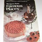 Better Homes & Gardens Recipes from Famous Places 1975