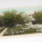 Vintage Postcard Residential Street Newcastle Nebraska 1912