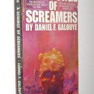 A Scourge of Screamers by Daniel F. Galouye PB 1968