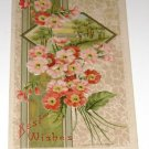 "Vintage Postcard ""Best Wishes""  early 1900's"