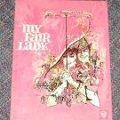MY FAIR LADY MOVIE BOOK WARNER BROS  AUDREY HEPBURN Hardcover