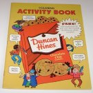 Duncan Hines Cookies Activity Book for Children 1984 Rand McNally