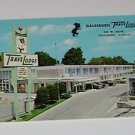 Vintage Postcard Galesburg TraveLodge Motel Galesburg Illinois