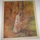 Vintage Art Print from The Christian Herald Magazine Oct 25 1911