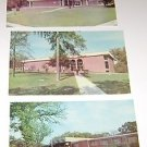 "(3) Peru State College Peru Nebraska Postcards ""Campus Buildings"" 1960's"
