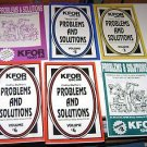 (6) KFOR Radio 1240 AM Cathy Blythes Problems & Solutions Booklets
