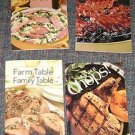 (4) Pork Producers Council Cookbooks