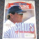 Chicago Vine Line Cubs Magazine March 1993 Jim Lefebvre Cover