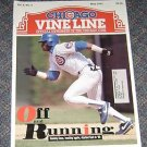 Chicago Vine Line Cubs Magazine May 1993 Sammy Sosa Cover
