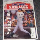 Chicago Vine Line Cubs Magazine August 1992 Mark Grace Cover