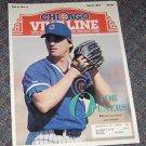 Chicago Vine Line Cubs Magazine April 1991 Danny Jackson Cover