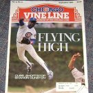 Chicago Vine Line Cubs Magazine September 1990 Shawon Dunston Cover