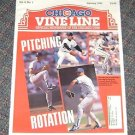Chicago Vine Line Cubs Magazine January 1993 Piching Rotation