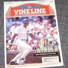 Chicago Vine Line Cubs Magazine June 1993 Derrick May Cover