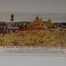 Vintage Postcard J.I Case Threshing Machine Co Ad/Postcard