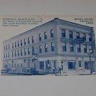 Vintage Postcard  Hotel Magil Fremont Nebraska
