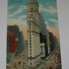Vintage Postcard Times Building New York City