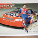 """Jeff Gordon Poster """"all fired up""""  Poster"""
