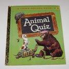 A Little Golden Book  Animal Quiz   (1960)