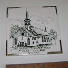 St Paul United Church Of Christ Cook Nebraska Plaque 1871 - 1971