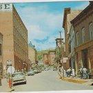 "Old Postcard Central City Colorado ""Eureka Street"" 1950's"