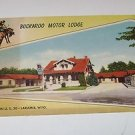 Old Postcard Buckaroo Motor Lodge Laramie Wyoming Doyle Twitchell