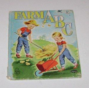 """Tell A Tale Whitman  """"Farm ABC"""" 1954"""