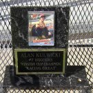 Alan Kulwicki #7 Hooters Winston Cup Champion Stand-up Plaque 1986 Rookie