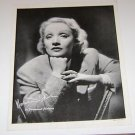 Marlene Dietrich picture poster