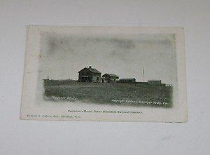 Vintage Postcard Custodians House Custer National Cemetery 1909 postmark