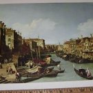 Masterpiece Painting No 24 Grand Canal Near the Rialto Bridge Print  Canaletto