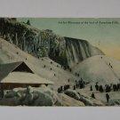 Vintage Postcard Ice Mountain American Falls Niagara