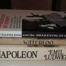 """(3) Napoleon PB's """"NAPOLEON"""" by Emil Ludwig """"AWAKENING OF EUROPE"""" Felix Markham"""