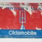 Owners Manual Oldsmobile Cutlass & Vista Cruiser Series 1977