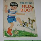 THE LITTLE RED BOOT  Vintage Rand McNally Jr Elf  Ruth Dixon 1966