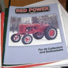 RED POWER IH & Farmall Enthusiasts Collectors Magazine january february 2002
