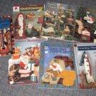 Lot of 7 Christmas Craft Books Kozubal Forgac Annette Ward J Strathman T Cowles
