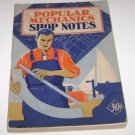 1939 Popular Mechanics Shop Notes Vol 35