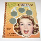 ROSEMARY CLOONEY'S CHILDRENS SONG BOOK w/ Spinwheel - 1956 Bonnie Book