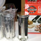 Norpro set of 3 canape bread molds,