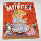 Little Miss Muffet & Other Nursery Rhymes Rand McNally Giant Book 1956
