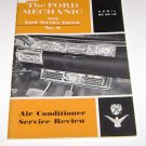 The Ford Mechanic 1958 April No 6 Air Conditioning Service Review