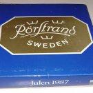 Rorstrands Julen 1987 Christmas Plate Sweden