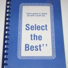 Select the Best by Martha Aitken Greer Cookbook 1986