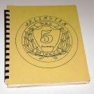 Mrs Jaycees Arlington Nebraska Cookbook 5 Anniversary 1978