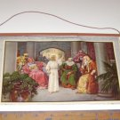 """(12) Vintage """"Bible Pictures"""" Calendar Art 1941 Ministry of the Savior"""
