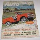FLoyd Clymer's Auto Topics Oct 1965 Hupmobile-Studebaker-Mercedes-Datsun-Mantz