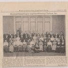 Turlock Ca Danish Historical News Picture 1914 Mission Assembly youth assn