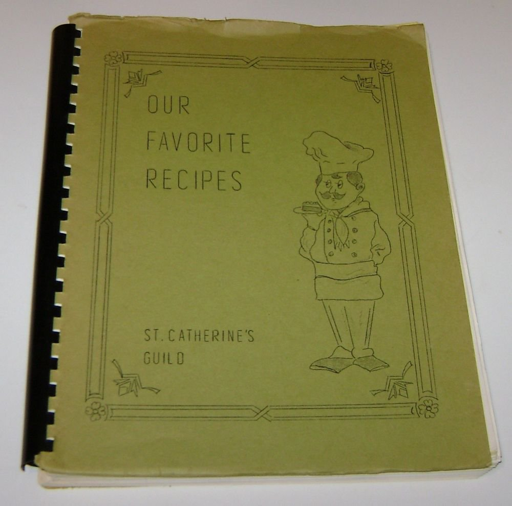 Cookbook St Catherines Guild St James Episcopal Fremont Nebraska 1970