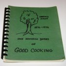 Harley Iowa Centennial Cookbook 1876 - 1976